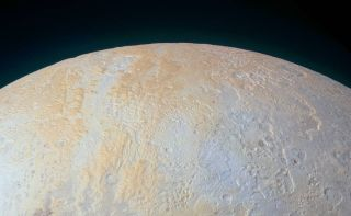 Pluto's North Pole Canyons