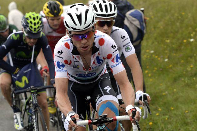 Tony Martin and Michal Kwiatkowski on stage ten of the 2014 Tour de France