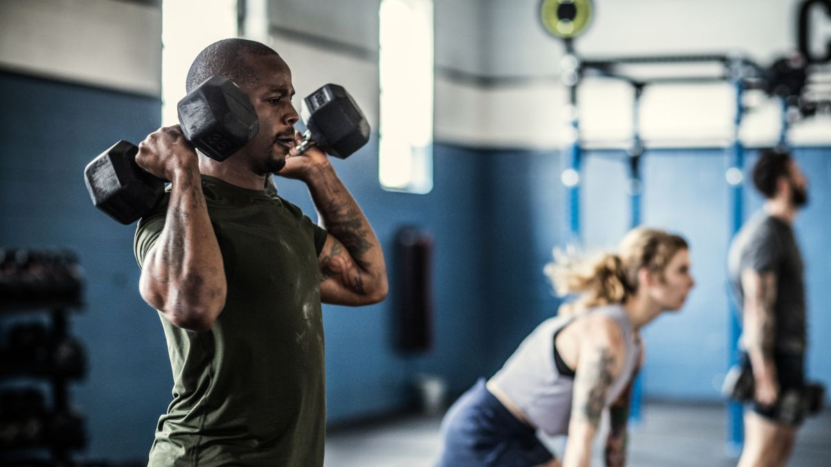 Our full-body dumbbell workout is perfect for building muscle AND losing fat