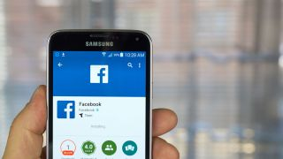 Facebook on Android mobile phone