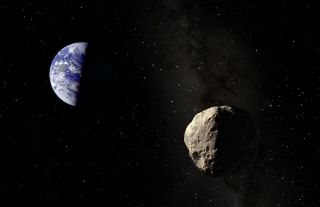 Asteroid Apophis Illustration
