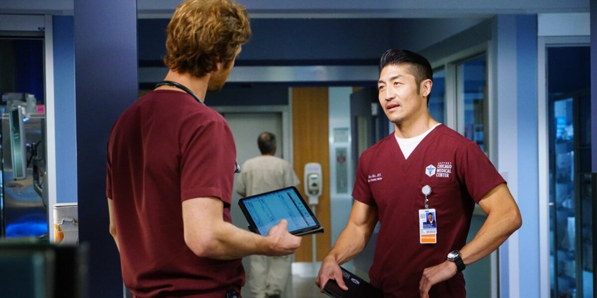 chicago med nick gehlfuss brian tee will and ethan nbc