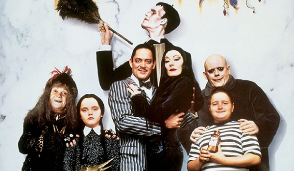 The Addams Family full family line-up