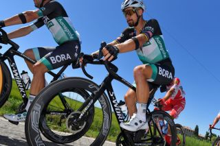 TURIN ITALY AUGUST 05 Peter Sagan of Slovakia and Team Bora Hansgrohe during the 101st Milano Torino 2020 a 198km race from Mesero to Stupinigi Turin MilanoTorino on August 05 2020 in Stupinigi Turin Italy Photo by Tim de WaeleGetty Images