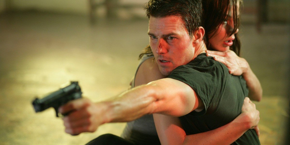 Tom Cruise Michelle Monaghan Mission Impossible III