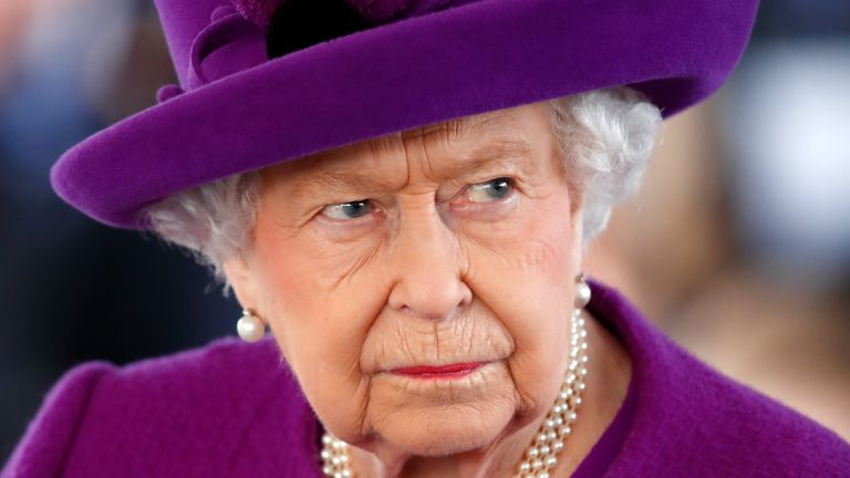 Queen Elizabeth II visits the Royal British Legion Industries village to celebrate the charity's centenary year on November 6, 2019