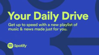 Spotify combines music and news in Your Daily Drive in-car playlist