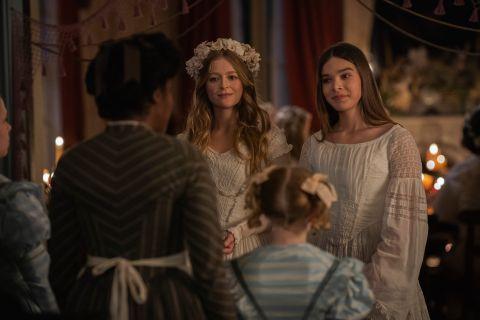 Emily and Lavinia Dickinson in Dickinson Season 2.