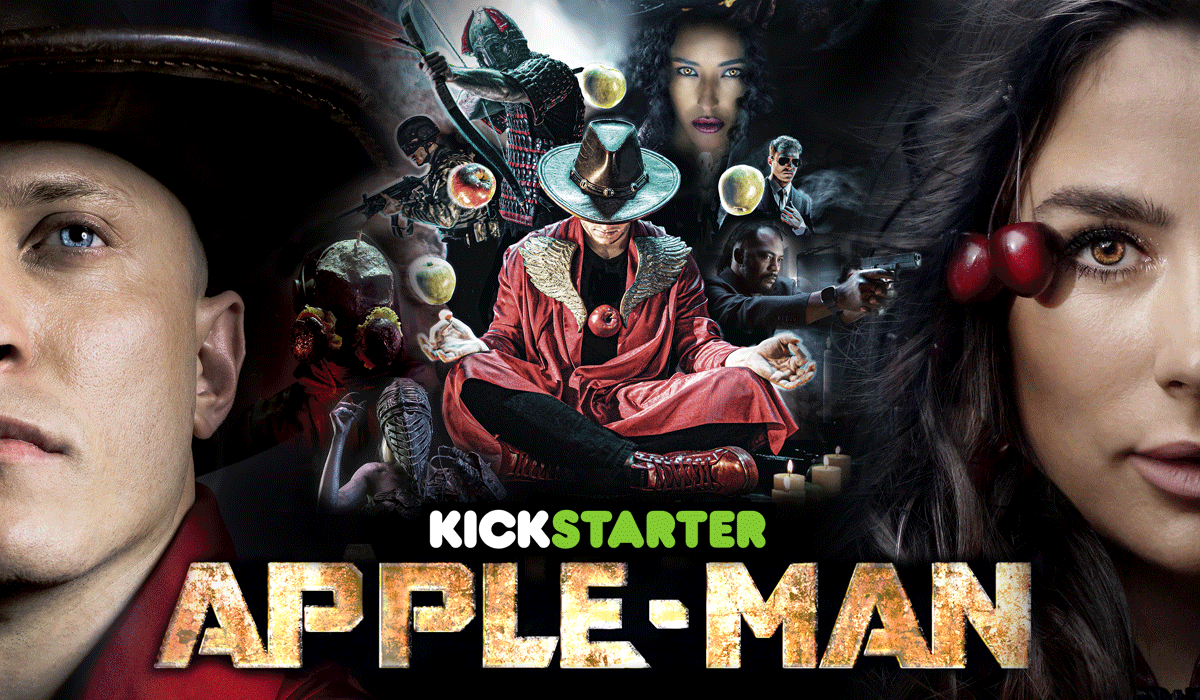 There's A New Superhero Named Apple-Man, And His Trailer Is Outrageous