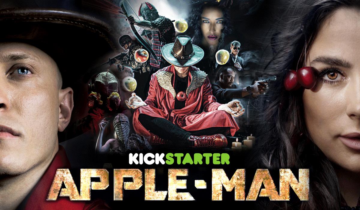 Apple-Man Poster