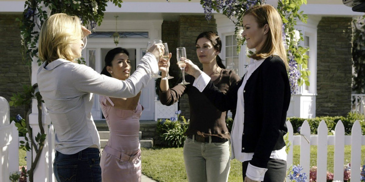 Some of the cast of Desperate Housewives.