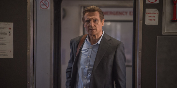 Liam Neeson in The Commuter