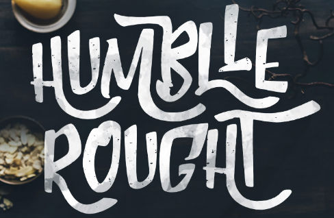 Free graffiti fonts: Humblle Rough