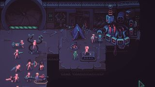 An image from autobattler tactics roguelike Despot's Game
