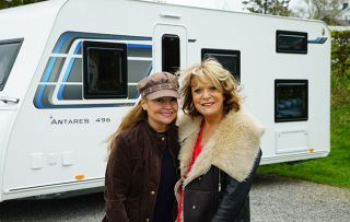 Sonia and Sherrie Hewson on Celebrity 5 Go Caravanning
