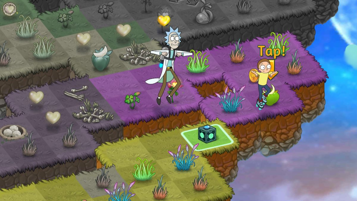 Rick and Morty go mobile in new Merge Dragons limited event