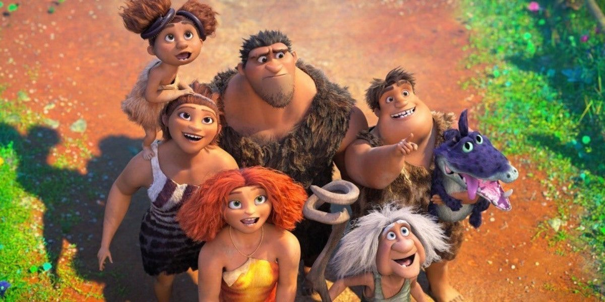 The Croods family of The Croods.