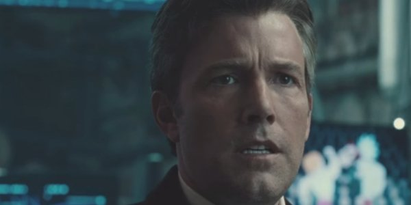 Justice League Ben Affleck looking in disbelief