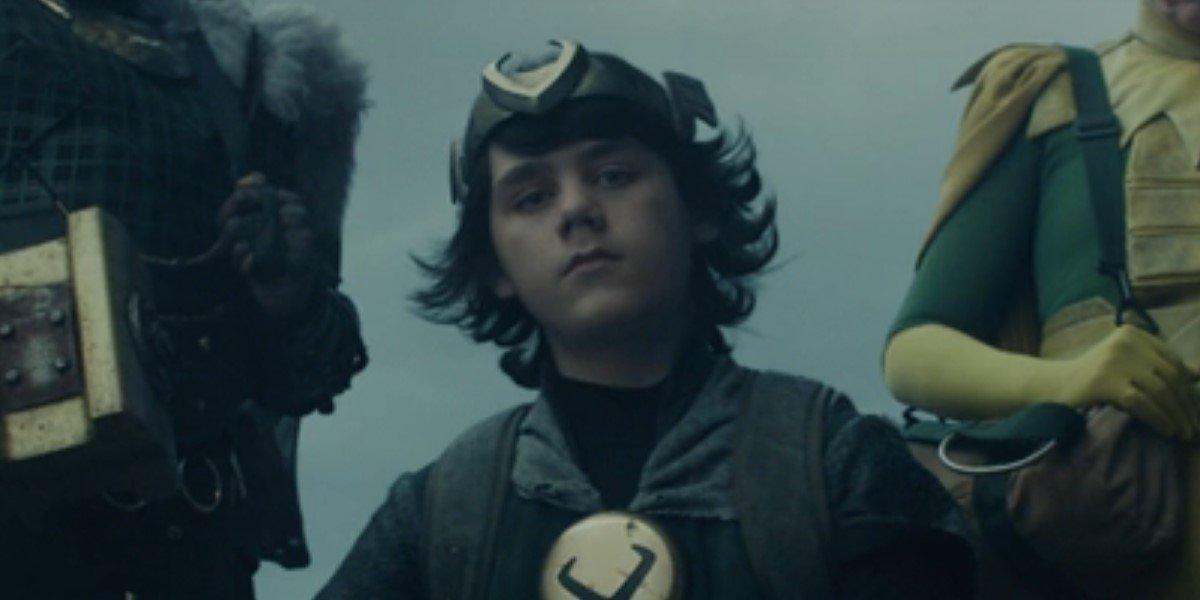 jack veal's kid loki in costume