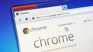 Google Chrome stylized image