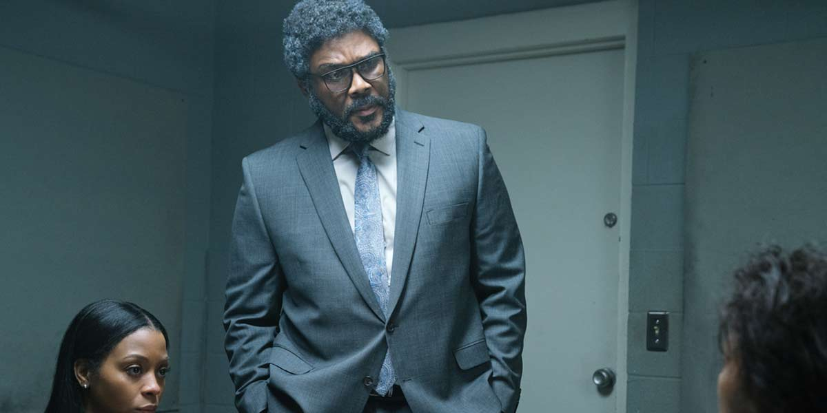 Tyler Perry in Netflix's A Fall From Grace