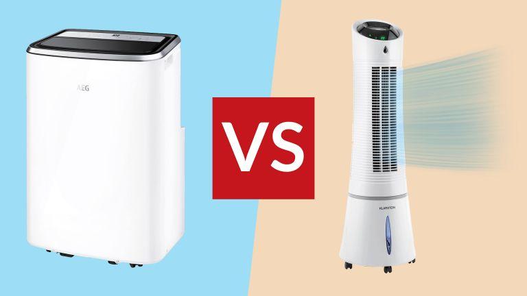 Portable air conditioner vs evaporative cooling