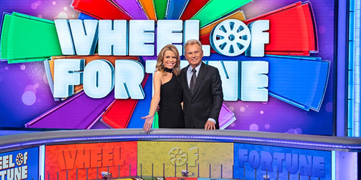 Pat Sajak and Vanna White Wheel of Fortune