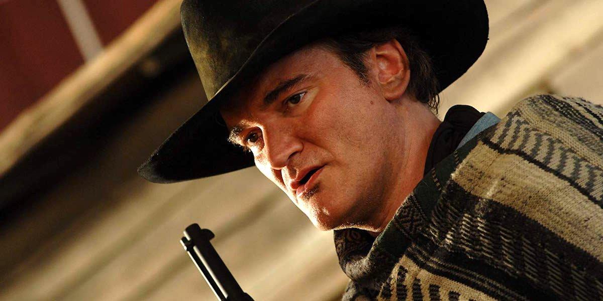 Quentin Tarantino western with gun