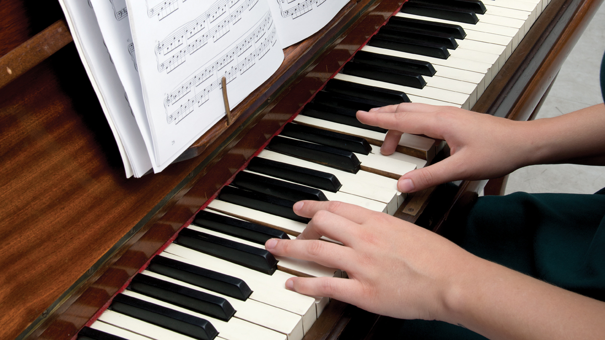 Learn the white keys on the piano | MusicRadar