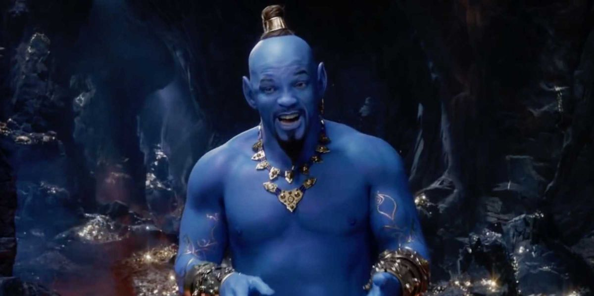 Will Smith as Genie in the Aladdin remake