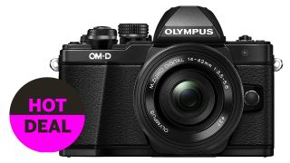 Best ever price on the Olympus OM-D E-M10 Mark II zoom kit. Just £330.44