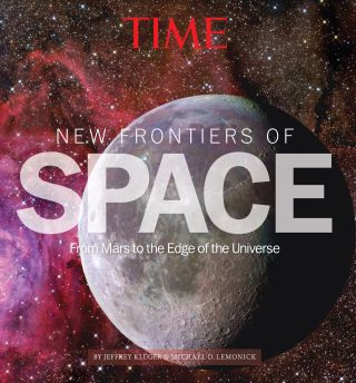"The cover of Time's ""New Frontiers of Space: From Mars to the Edge of the Universe."""