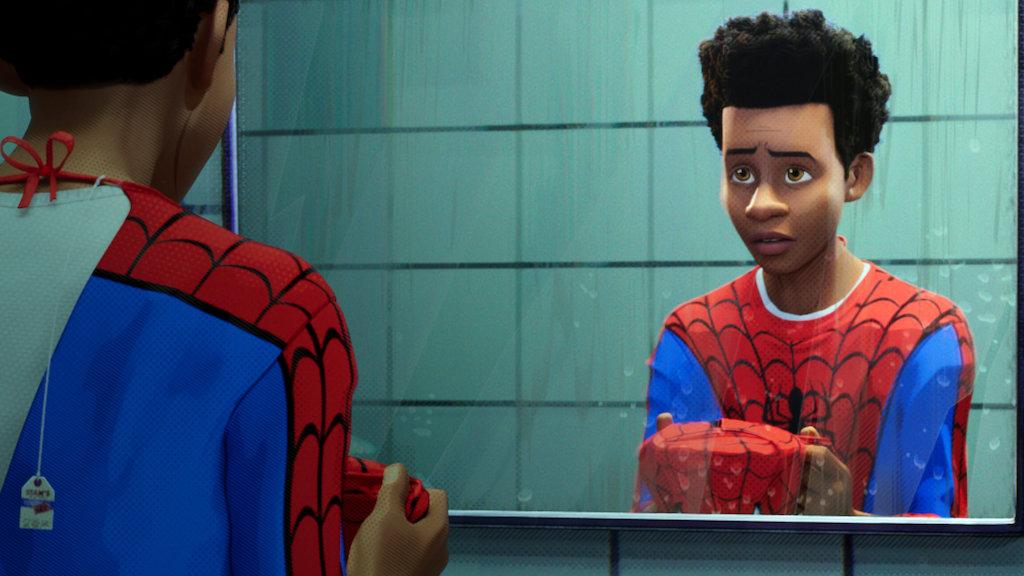 best netflix movies uk - spider-man into the spider verse
