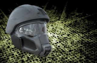 Air-conditioned army helmet
