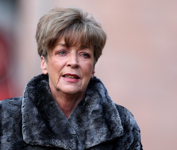 Corrie actress Anne Kirkbride