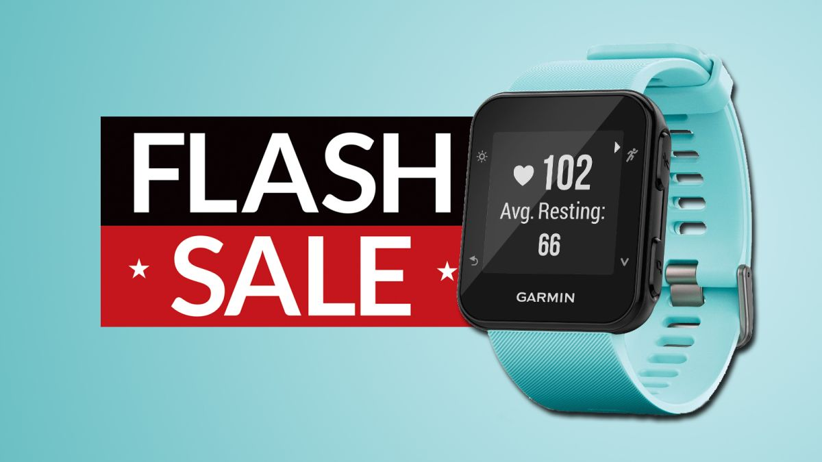 Cheap Garmin watch deal of the day: get a Garmin Forerunner for under £90/$100