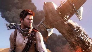 Nathan Drake in Uncharted video game