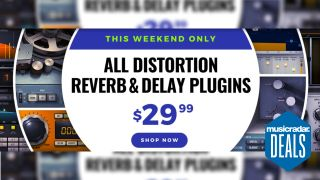 Waves $29.99 reverb, distortion and delay plugins sale