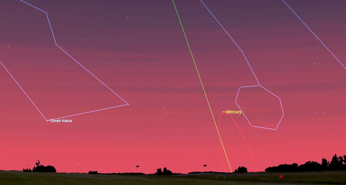 Elusive Planet Mercury Is Not So Elusive in the Sky This Month