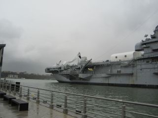 Enterprise Damaged by Hurricane Sandy