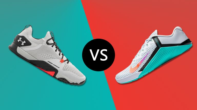 Under Armour TriBase Reign 2 vs Nike Metcon 6