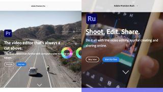 Adobe Premiere Pro vs Premiere Rush