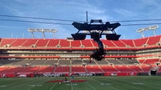 CBS Sports Super Bowl LV Trolley Cam