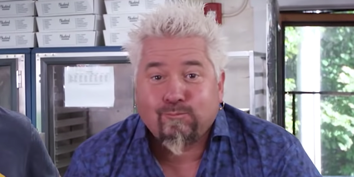 guy fieri mouth full diners drive-ins and dives