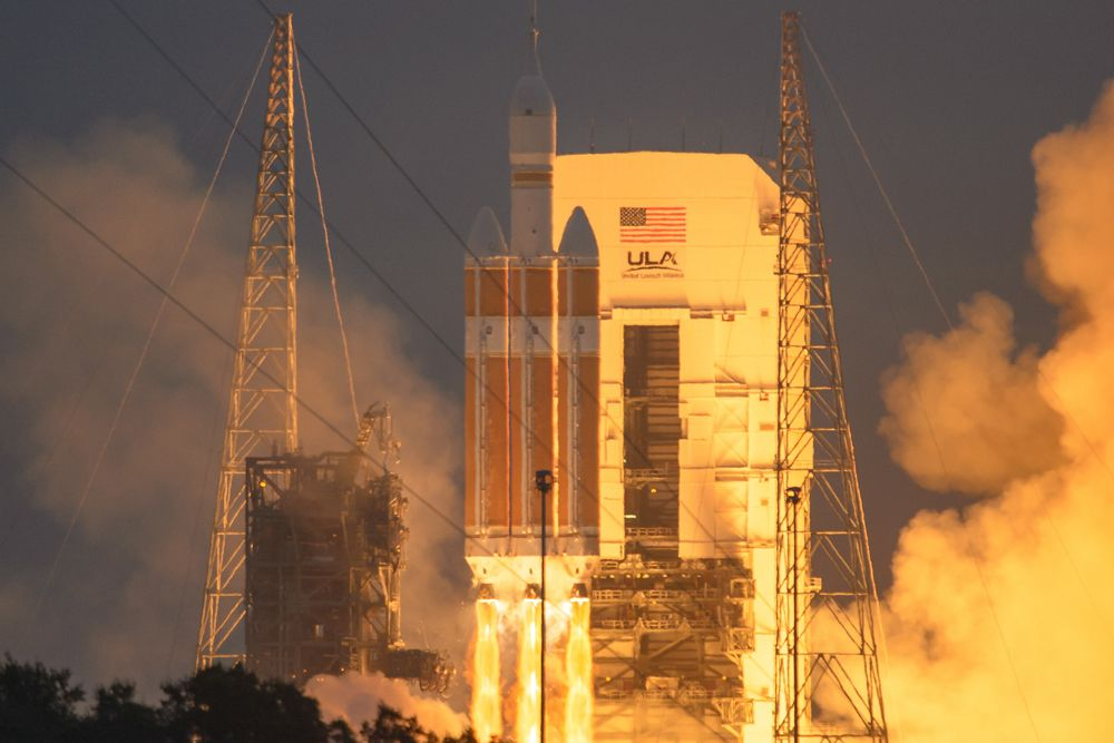 NASA's Orion Crew Capsule Has Flown on a Commercial Rocket Before (Video)