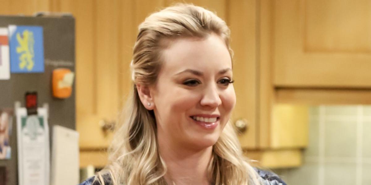 Penny (Kaley Cuoco) smiles on The Big Bang Theory