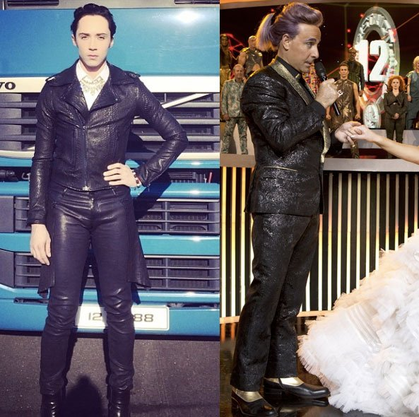 Johnny Weir/Caesar Flickerman