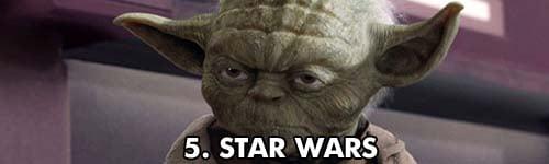 5. Star Wars