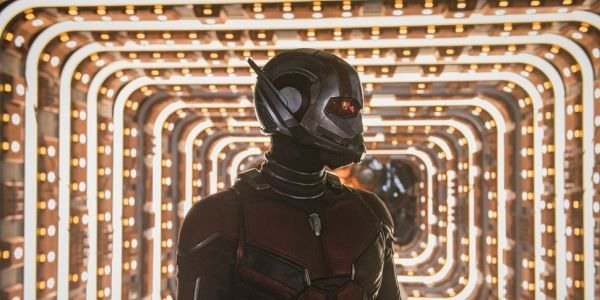 Ant-Man in front of a Quantum Tunnel