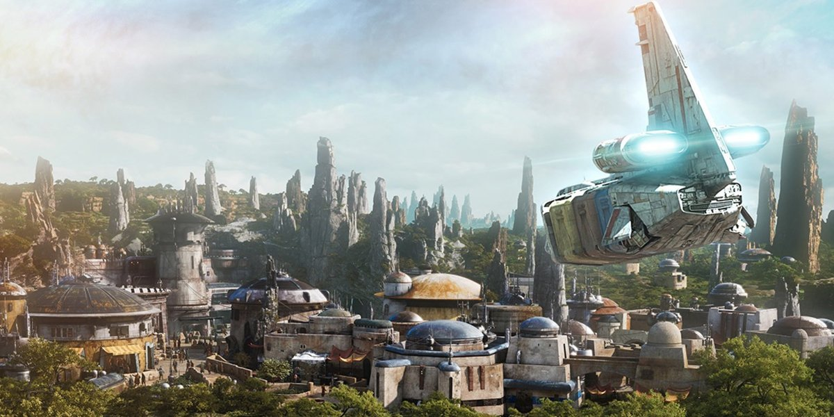 Concept art for Star Wars Galaxy's Edge